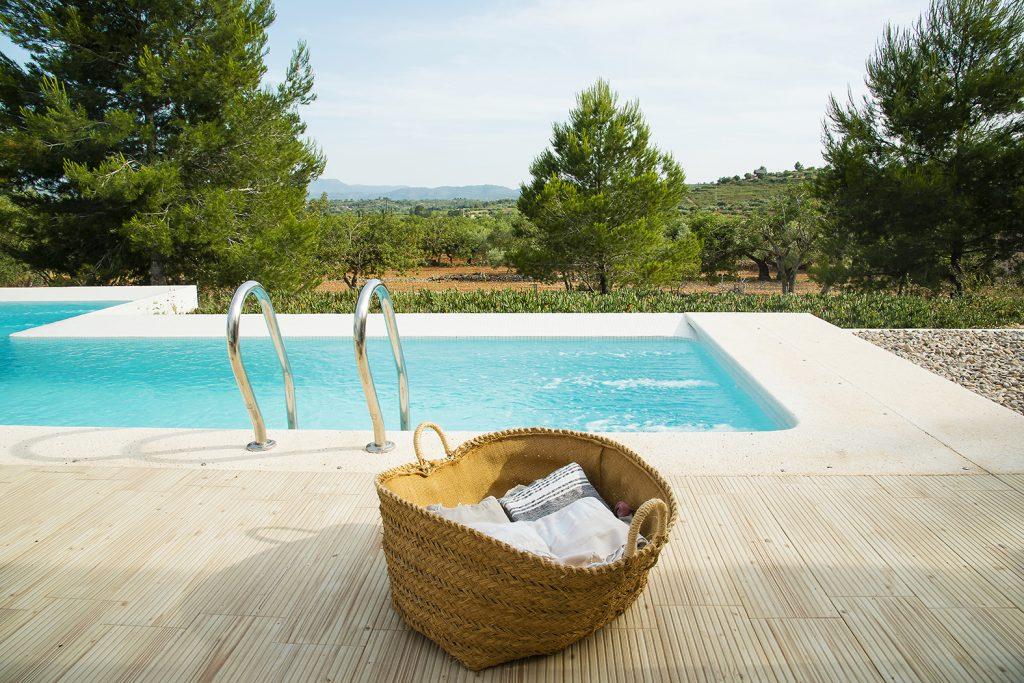 piscina. vistas, panorámicas