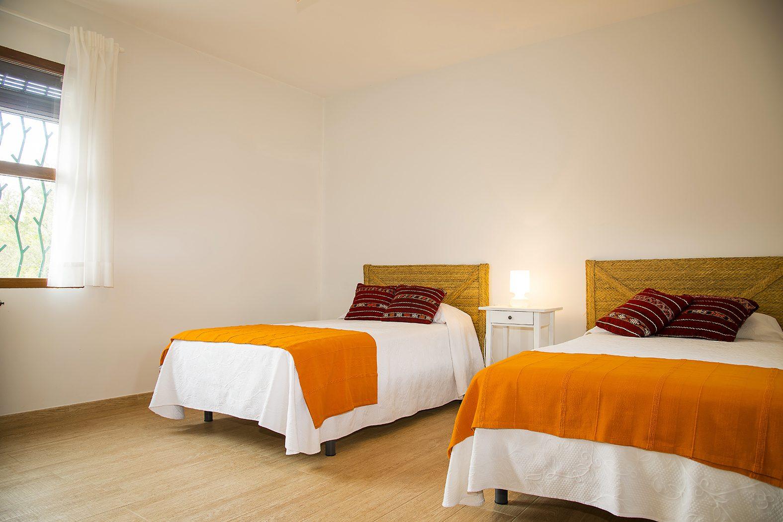 habitación, Fez, dos, camas